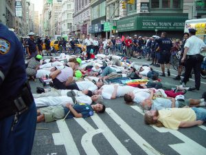 Civil Disobedience: Illegally Blocking a Street in New York City