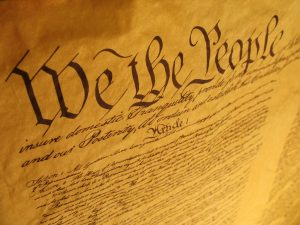 We the People. Preamble to the Constitution.