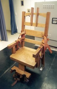 The Florida Electric Chair in 1999