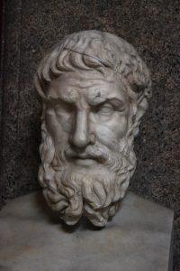 Statue of Epicurus