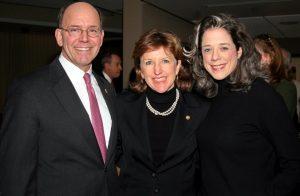 Former U.S. Senator Kay Hagan (D-NC), Her Husband Chip, and Lobbyist Heather Podesta.