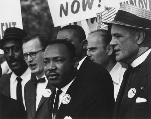 Martin Luther King, Jr. During the March on Washington in 1963