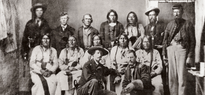 A delegation of Arapaho and Cheyenne leaders met with the U.S. military on Sept. 28, 1864, at Camp Weld, Colo., to seek peace on the plains east of Denver, almost two months before the Sand Creek Massacre.