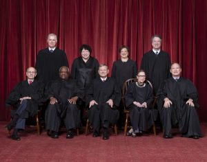 The Nine Supreme Court Justices