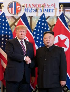 President Donald Trump and Chairman Kim Jong Un