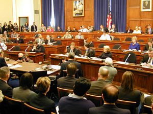 A Committee Meeting in the U.S. House of Representatives
