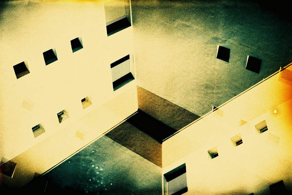 heavily filtered buildings