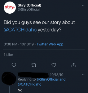 A screenshot of a company's Twitter post that has little to no information about their video they recently launched.