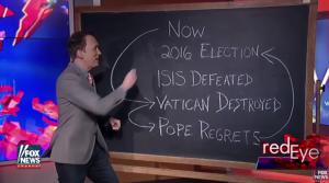 A screenshot of the comedian deconstructing Trump's logic.